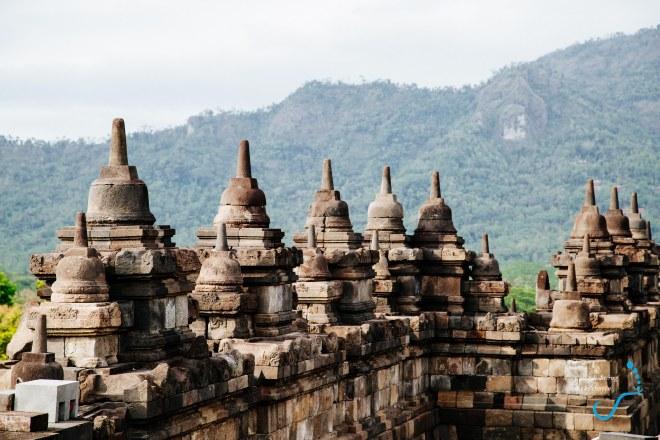 Một góc Borobudur