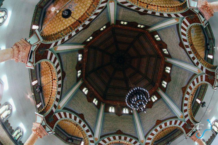 Trần của thánh đường Hồi Giáo