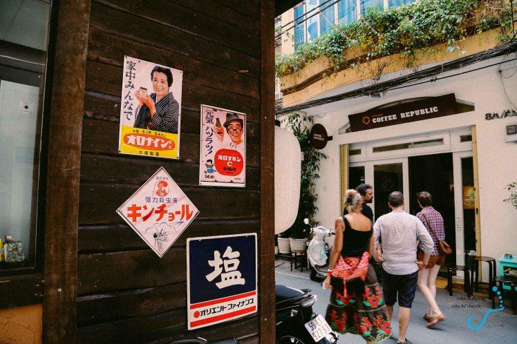 Một góc khu phố Nhật